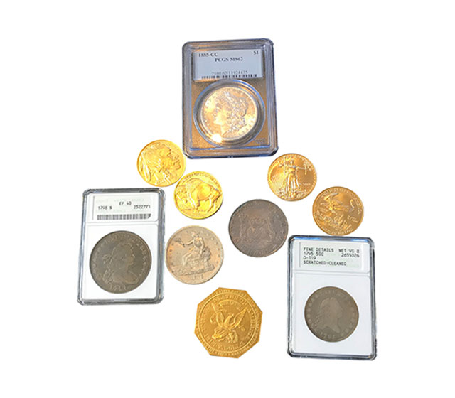 Buy/Sell Old Collector Coins & Currency San Jose, CA | Rare